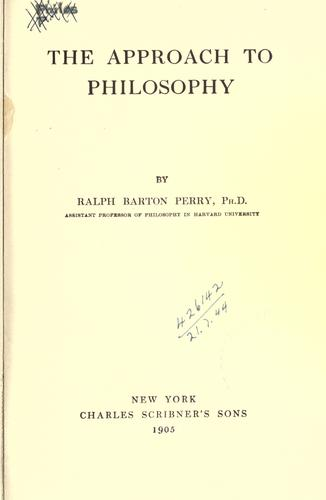 The approach to philosophy.