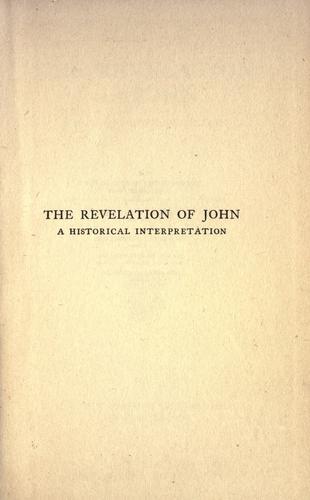 The Revelation of John