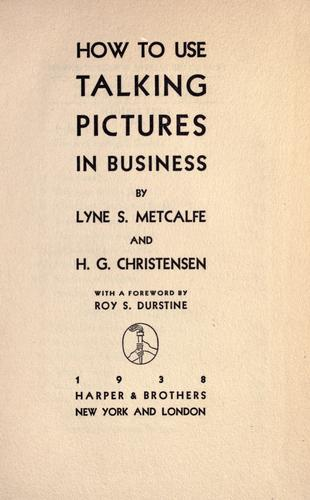How to use talking pictures in business by Lyne Shackleford Metcalfe