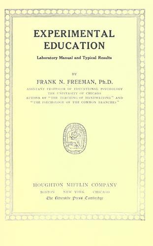 Experimental education