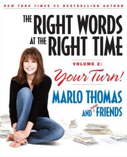 The Right Words at the Right Time, Vol. 2 by Marlo Thomas