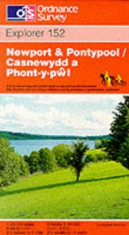 Newport and Pontypool (Explorer Maps)