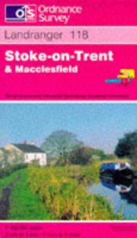 Stoke-on-Trent and Macclesfield (Landranger Maps)