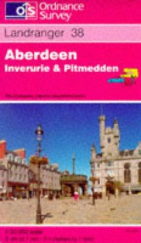 Aberdeen, Inverurie and Pitmedden (Landranger Maps)