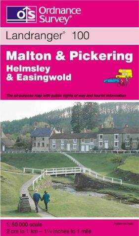 Malton and Pickering, Helmsley and Easingwold (Landranger Maps)