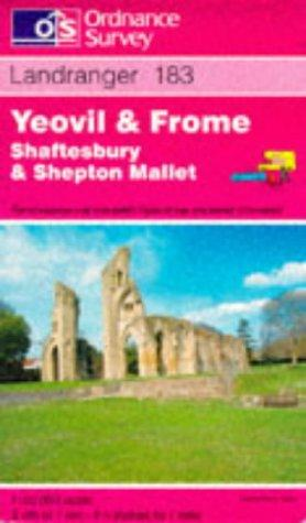 Yeovil and Frome, Shaftesbury and Shepton Mallet (Landranger Maps)