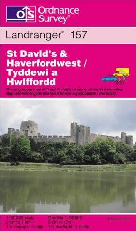 St.David's and Haverfordwest (Landranger Maps)