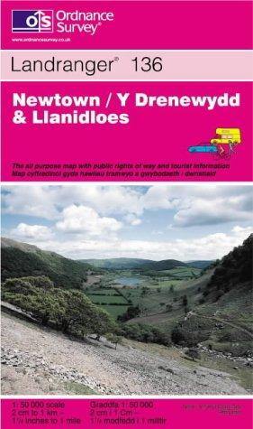 Newtown and Llanidloes (Landranger Maps)