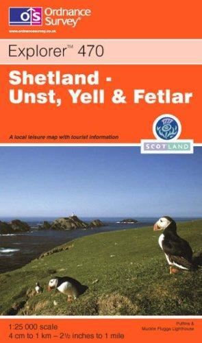 Shetland (Explorer Maps)
