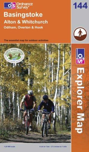 Basingstoke, Alton and Whitchurch (Explorer Maps)