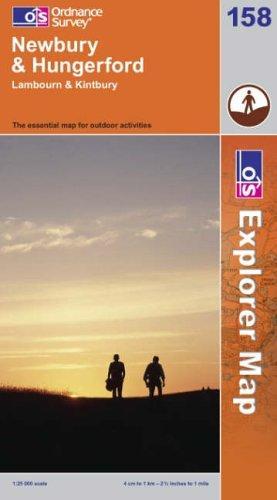 Newbury and Hungerford (Explorer Maps)
