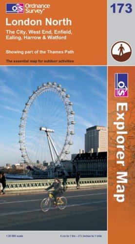 London North (Explorer Maps)