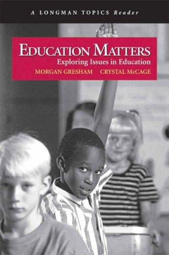 Education Matters by Crystal McCage