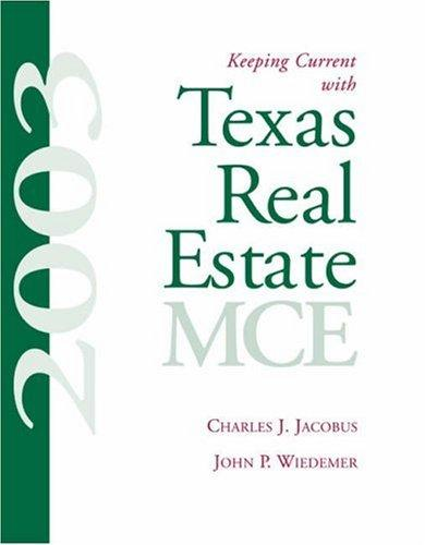 Keeping current with Texas real estate MCE