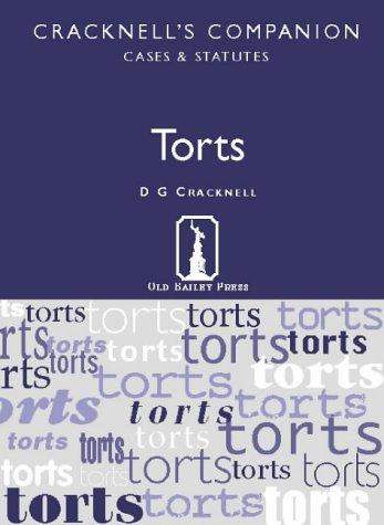 Torts (Cracknell's Companion) by D.G. Cracknell