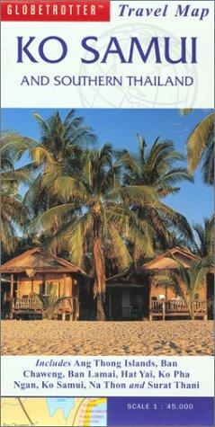 Ko Samui and Southern Islands Travel Map by Globetrotter