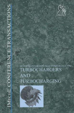Turbochargers and Turbocharging (Imeche Event Publications) by IMechE (Institution of Mechanical Engineers)