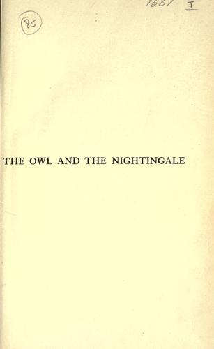 The owl and the nightingale by