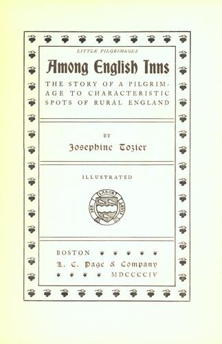 Among English inns