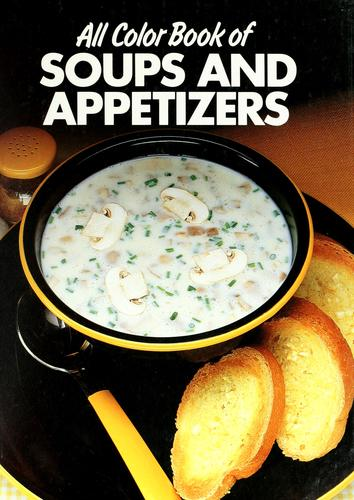 All color book of soups and appetizers by