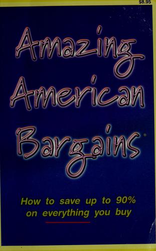 Amazing American bargains by Robert Kalian