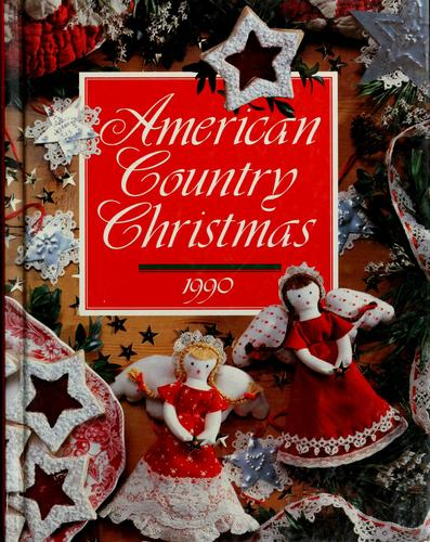 American country Christmas, 1990 by