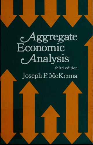 Aggregate economic analysis