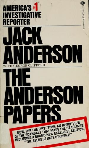 The Anderson papers by Anderson, Jack