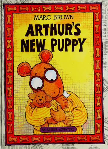 Arthur's new puppy by Marc Tolon Brown