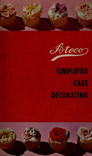 Ateco simplified cake decorating by