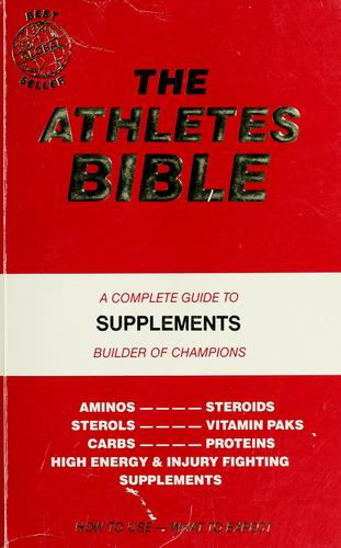The Athletes bible by