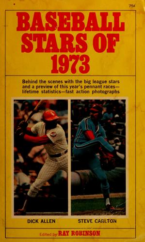 Baseball stars of 1973 by