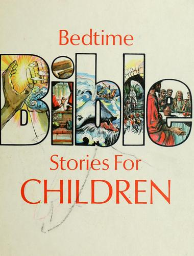 Bedtime Bible stories for children by Peter Fernandez