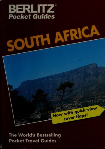 Berlitz South Africa by Martin Gostelow, Berlitz Publishing Company
