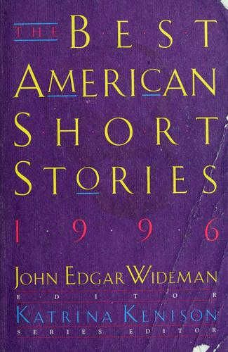 The best American short stories, 1996 by