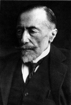 Photo of Joseph Conrad