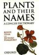 Plants and their names by Roger Hyam