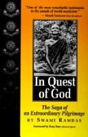 In quest of God by Ramdas Swami