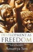 Development as freedom by Amartya Kumar Sen