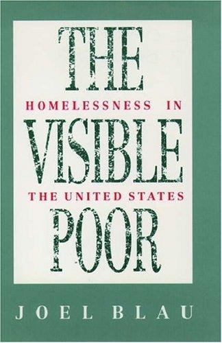 The visible poor by Joel Blau