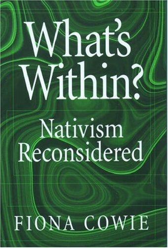 What's within? by Fiona Cowie