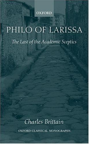 Philo of Larissa by Charles Brittain
