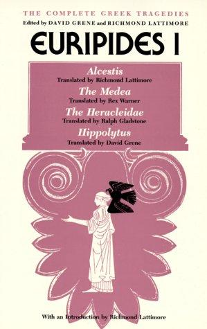The Complete Greek Tragedies by Euripides
