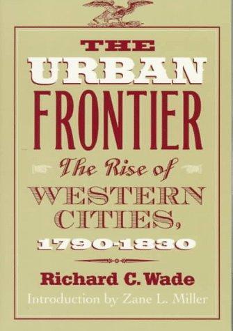 The urban frontier