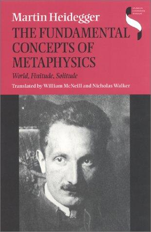 The Fundamental Concepts of Metaphysics