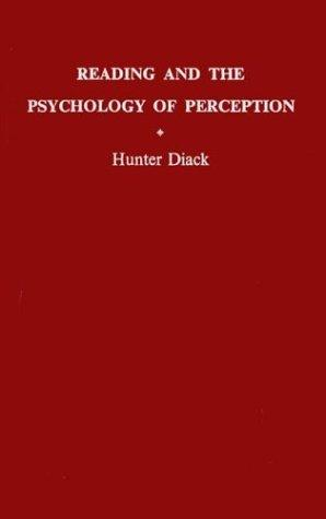 Reading and the psychology of perception.