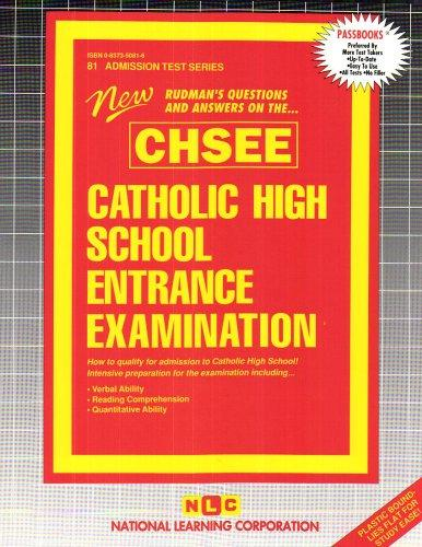 Catholic High School Entrance Examination (CHSEE) by